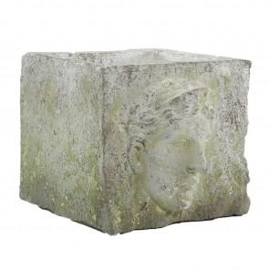 Magnesia Cube Figure Planter