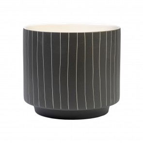 Blurred Lines Planter Pot Small