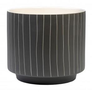 Blurred Lines Planter Pot Large