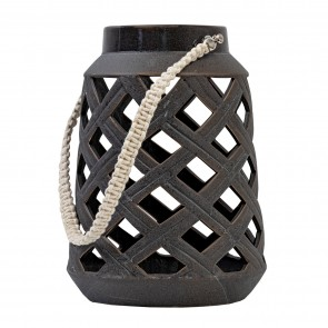 Black Ceramic Lantern