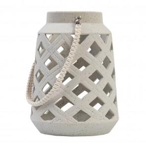 Ivory Ceramic Lantern