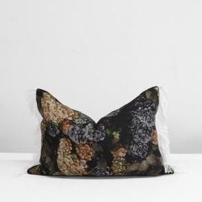 Hydrangea Fringe Cushion
