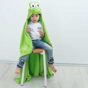 iSpy Hooded Crocodile Kid's Blanket Wrap