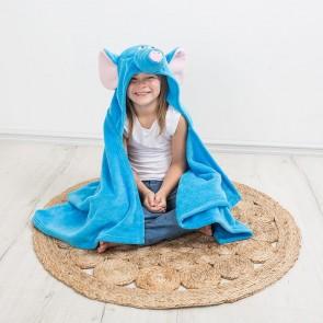 iSpy Hooded Elephant Kid's Blanket Wrap