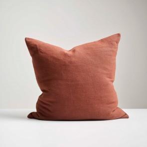 Marsala Italian Linen Cushion - Made in NZ