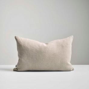 Natural Italian Linen Long Cushion - Made in NZ