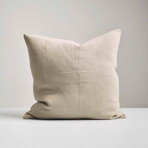Natural Italian Linen Cushion - Made in NZ