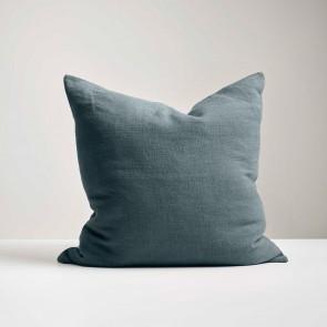 Peacock Italian Linen Cushion - Made in NZ