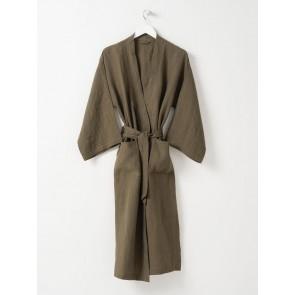 100% Linen Robe - Ivy