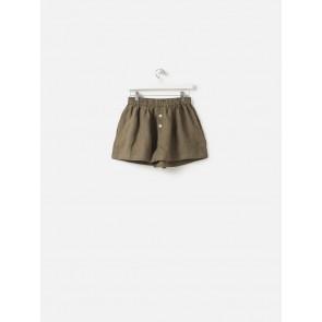 100% Linen PJ Shorts - Ivy