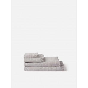 Jacquard Bath Towel Collection - Grey