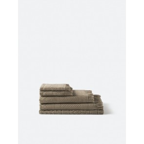 Jacquard Bath Towel Collection - Matcha
