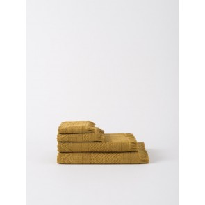 Jacquard Bath Towel Collection - Citron