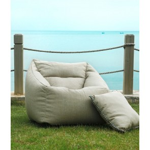 Kalo Outdoor Bean Chair Collection by MM Linen - Natural