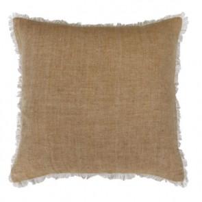 Mulberi Keaton 100% Linen Cushion - Wheat