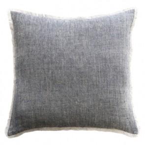 Mulberi Keaton 100% Linen Cushion - Navy/Natural