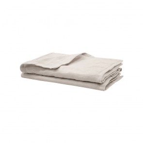 Pebble French Linen Napkins by Bambury - 4 Pack