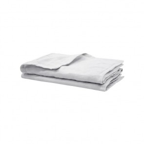 Silver French Linen Napkins by Bambury - 4 Pack