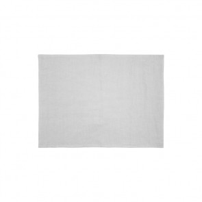 Silver French Linen Placemat by Bambury - 4 Pack