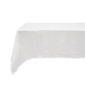 Ivory French Linen Tablecloth by Bambury