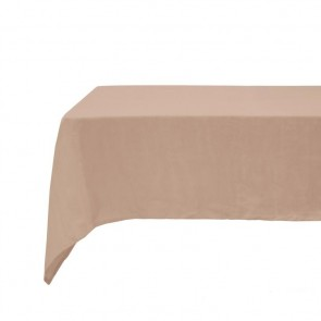 Tea Rose French Linen Tablecloth by Bambury