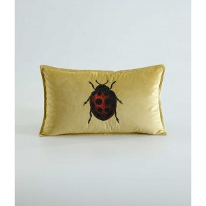 Ladybird Cushion by MM Linen