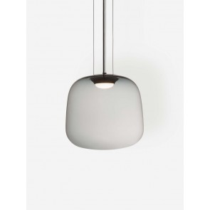 Smoke Grey Pendant Light Large
