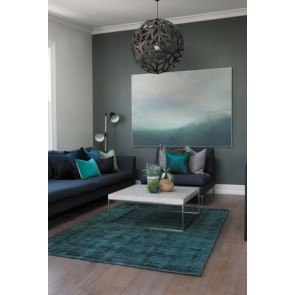 Mulberi Kensington Sea Blue Floor Rug