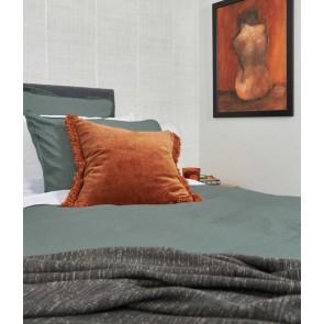 Laundered Linen Duvet Cover Set by MM Linen - Seagrass