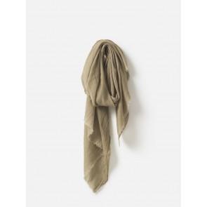 Lilian Wool Silk Scarf - Fennel