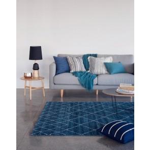 Limon Marshall Indigo Blue Floor Rug