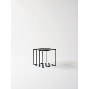 Linear Grid Side Table