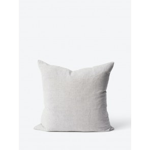 Linen Cotton Blend Cushion Cover Grey - 2 Pack