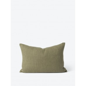 Linen Cotton Blend Cushion Cover Thyme - 2 Pack