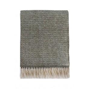 Mulberi Littano Merino Wool Blend Throw - Kale