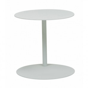 Aperto Ali Round Side Table (Outdoor) - White