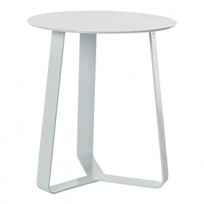 Cancun Ali Round Side Tables ( Outdoor) - White