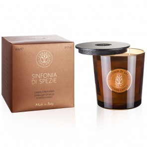 Luxury Candle - 800g - Sinfonia di Spezie