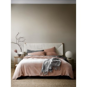 Luxury Velvet Duvet Cover by Aura - Rosewater