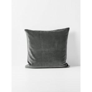 Luxury Velvet Cushion by Aura - Charcoal
