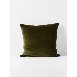 Luxury Velvet Cushion by Aura - Khaki