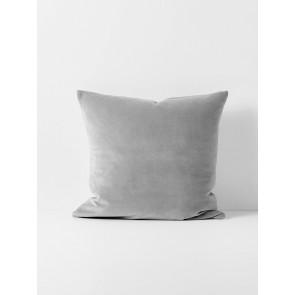 Luxury Velvet Cushion by Aura - Pebble