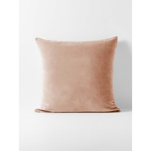 Luxury Velvet Rosewater Euro Pillowcase Each