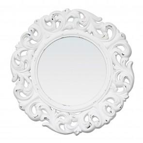 Hyacinth Round Bevelled Mirror