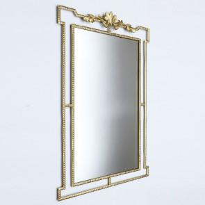 Victoria Mirror Distressed Gold