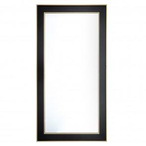 Logan Black & Gold Frame Mirror