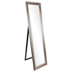 Free Standing Ornate Cheval Mirror