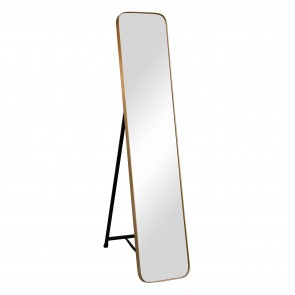 Standing Dress Mirror Gold
