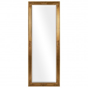 Antique Effect Bevelled Glass Mirror
