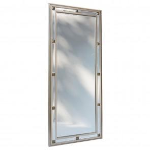 Beveled Centre Mirror Segment Dress Mirror